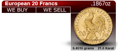 20 Franc Gold Coin